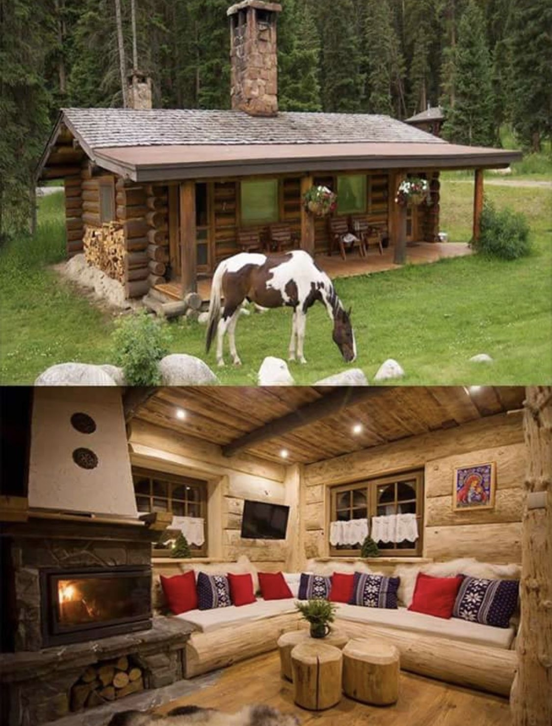 60 Small Mountain Cabin Plans with Loft Awesome Pin by Jirka Hlavaty On Beautiful Homes In 2019