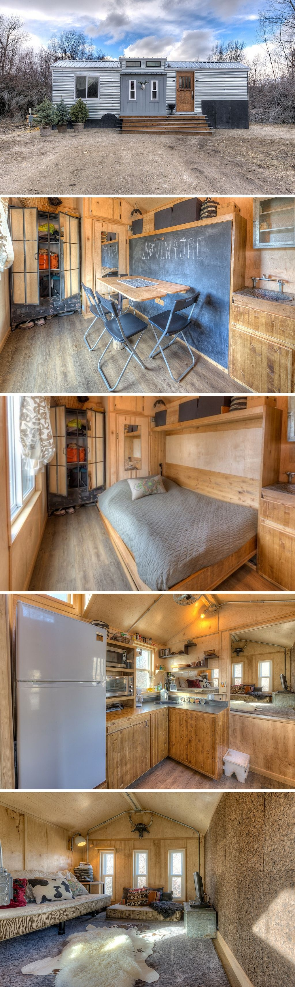 60 Small Mountain Cabin Plans with Loft Best Of the Lewis and Clark A Tiny House Retreat Available for Rent In the