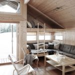 60 Small Mountain Cabin Plans with Loft Elegant Stue Med Dagseng Og Hems In 2019 Architecture