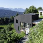 65 Mountain Cabin Plans Hillside Lovely House Sch Bregenz at Dietrich Untertrifaller Architekten
