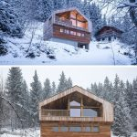 65 Mountain Cabin Plans Hillside Luxury Mountain House by Studio Razavi Architecture Home