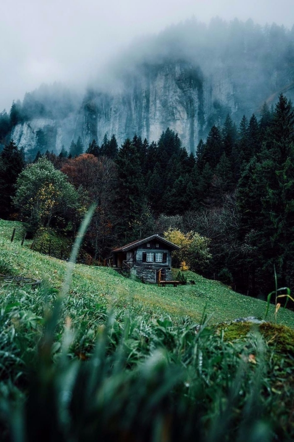 65 Mountain Cabin Plans Hillside New Remote Valleys & Off the Grid Cabins My Type Of Life Chris