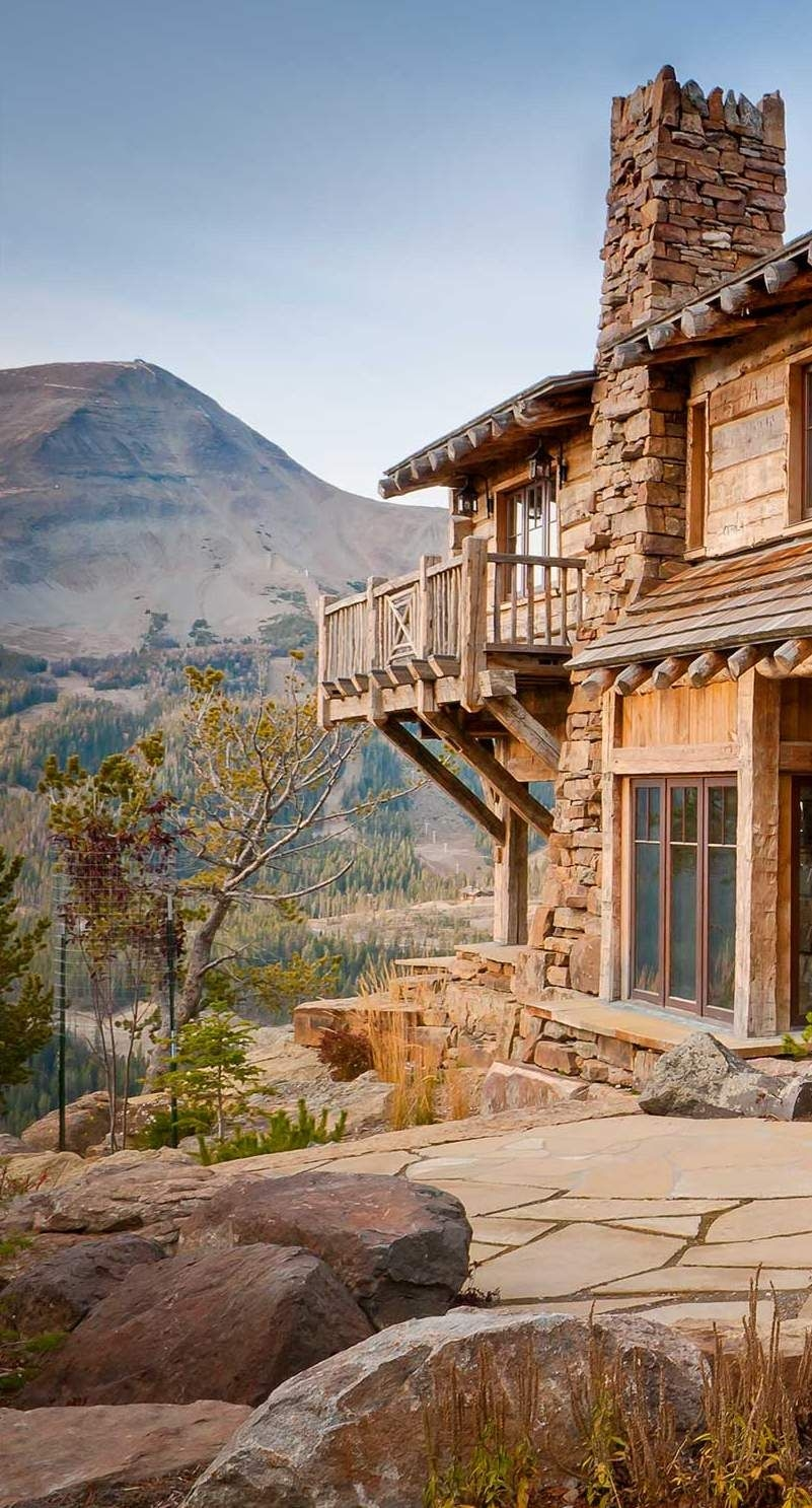 72 Mountain Chalet House Plans Luxury Cabin Balcony Beautiful Balconies