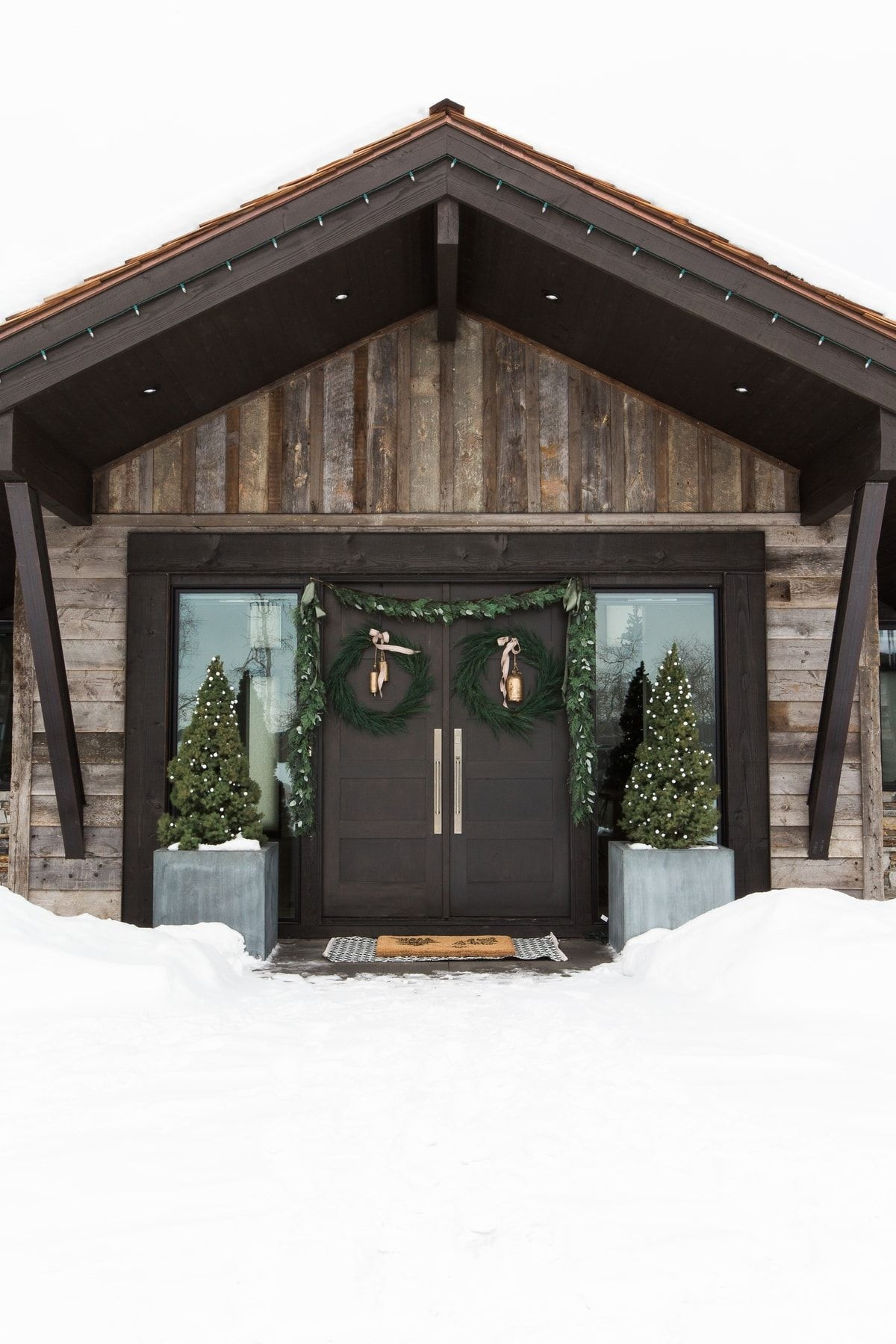 72 Mountain Chalet House Plans Unique A Very Mountain Home Christmas West