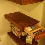 85 Sample Reclaimed Wood Floating Shelves Inspirational Wonderful Useful Ideas Floating Shelf Fice Small Spaces Floating