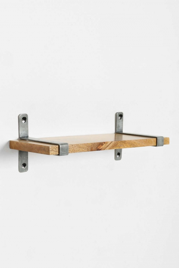 88 Wood Shelves with Metal Brackets Awesome 4040 Locust Cooper Wall Shelf Urban Outfitters