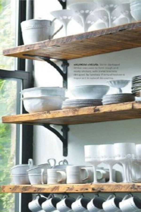 88 Wood Shelves with Metal Brackets Awesome 85 Unusual Diy Kitchen Open Shelving Ideas Kitchen