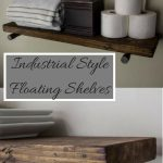 88 Wood Shelves with Metal Brackets Best Of Industrial Floating Shelves