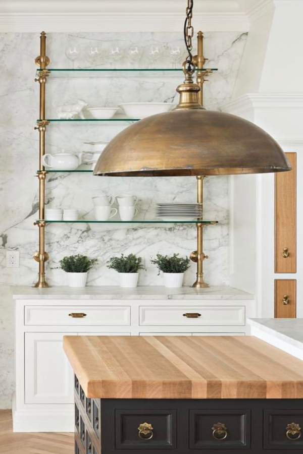 88 Wood Shelves with Metal Brackets Fresh Brass Marble Glass Kitchen Shelevs