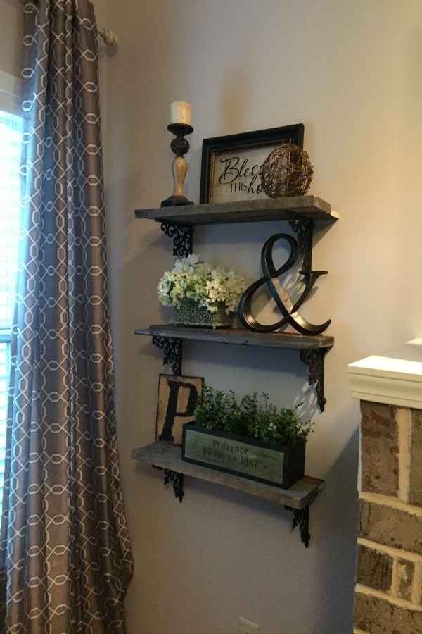 88 Wood Shelves with Metal Brackets Inspirational Love the Wood Shelves and Metal Brackets Good Idea for the End Of