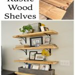 88 Wood Shelves with Metal Brackets Luxury Diy Rustic Wood Shelves Home Diy Project Ideas