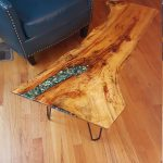 93 Live Edge Coffee Table Best Of Coffee Table Example Of Custom order Live Edgewood Resin River