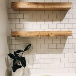 Reclaimed Wood Floating Shelves Awesome Modernhomedecorkitchen