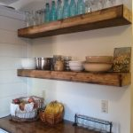 Reclaimed Wood Floating Shelves Fresh Pin by Jodi Benjamin On Kitchens