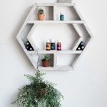 Reclaimed Wood Floating Shelves Luxury Essential Oil Shelves