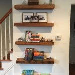 Reclaimed Wood Floating Shelves Luxury Gorgeous Natural Reclaimed Floating Shelves