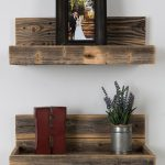 Reclaimed Wood Floating Shelves Luxury This Reclaimed Wood Floating Shelves Set Of Two by Delhutson