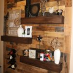 Reclaimed Wood Floating Shelves New Dining Room Remodel Pallet Wall Floating Shelves