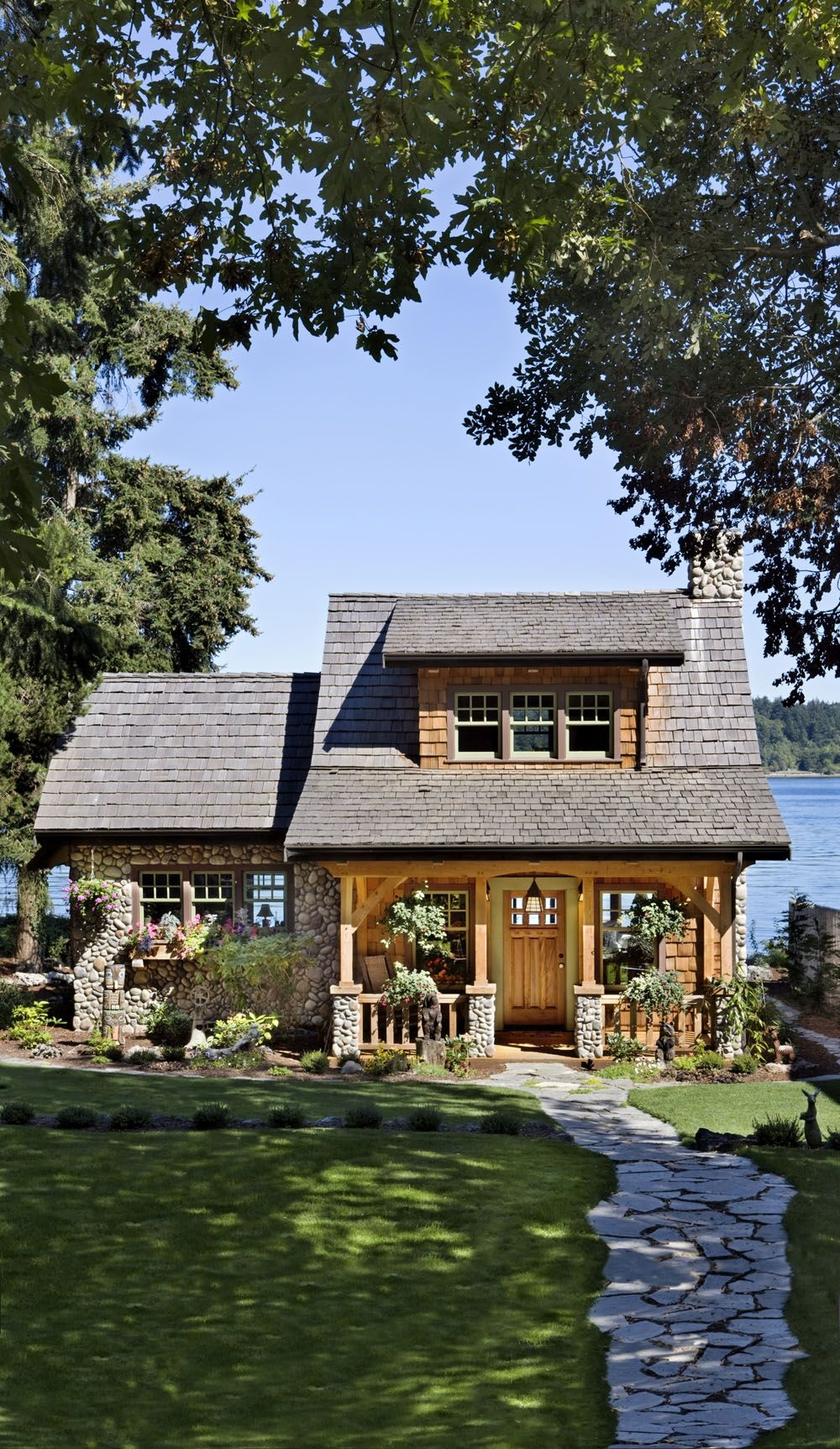 Rustic Mountain House Plans With Walkout Basement Elegant A Well Designed Pacific Coast Cottage With A Lake View Cabin Vrogue Co