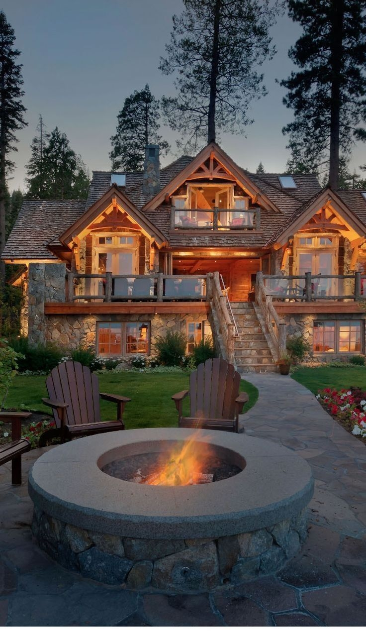 Rustic Mountain House Plans With Walkout Basement Lovely Can T Decide Between A Beach House Country House Or Mountain House Vrogue Co