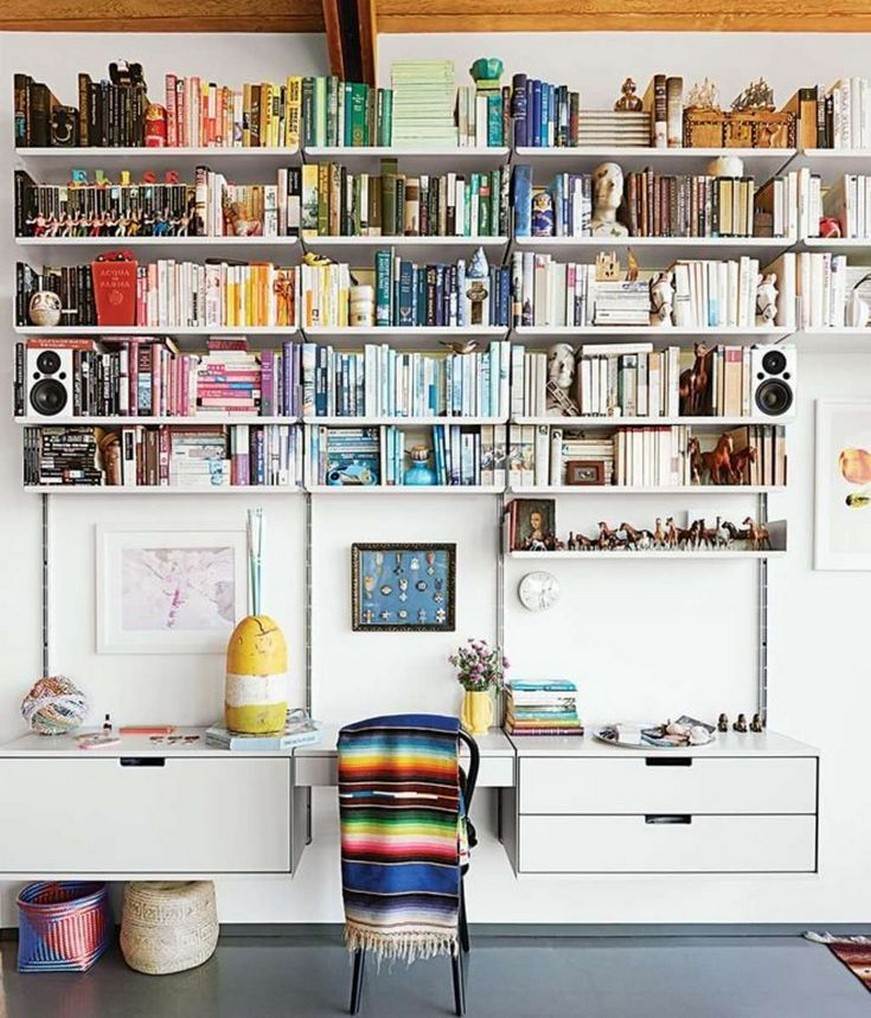 ✔️ 45 wall shelves design ideas how to decorate your home with wall shelves 2