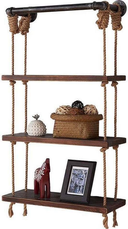 ✔️ 45 wall shelves design ideas how to decorate your home with wall shelves 21