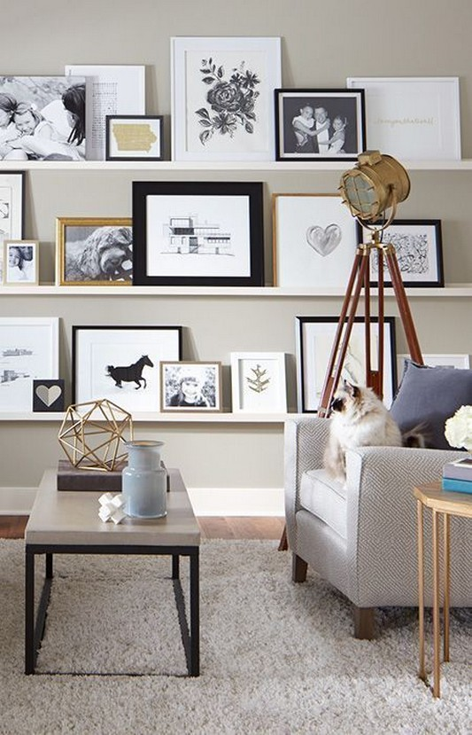 ✔️ 55 wall shelves design ideas show off your precious possessions with floating wall shelves 1