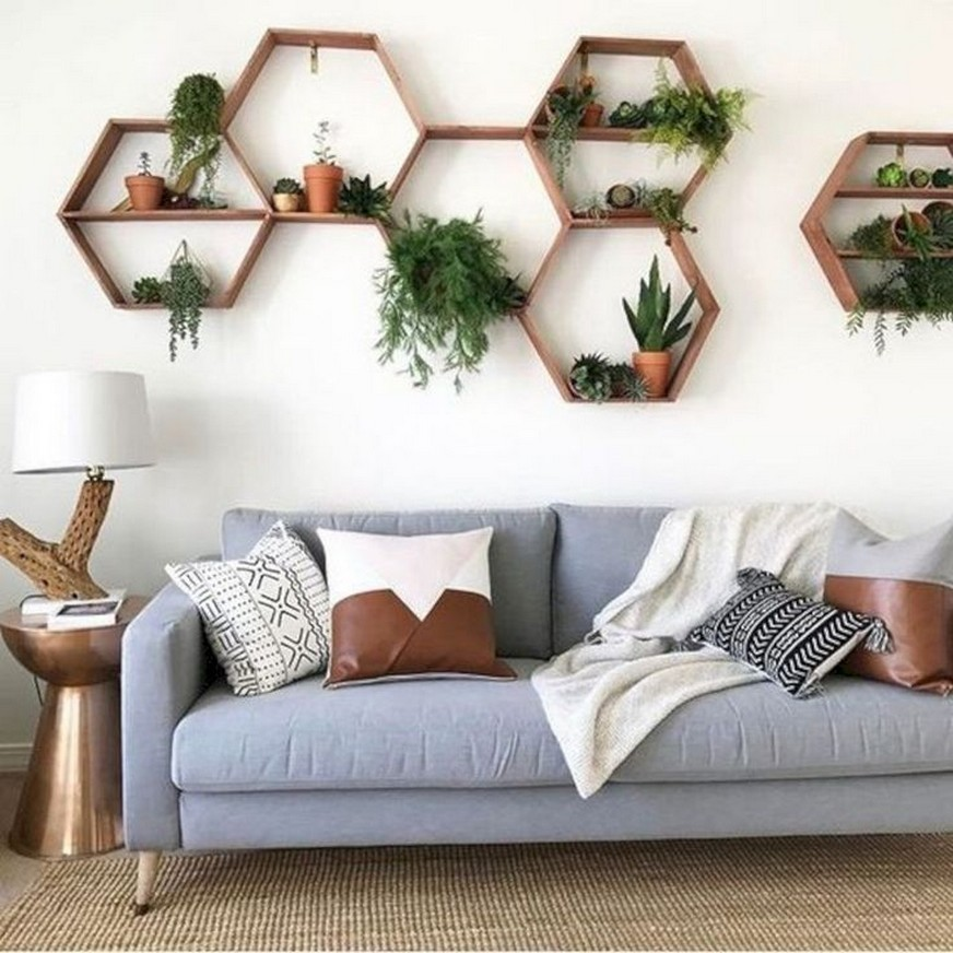 ✔️ 55 wall shelves design ideas show off your precious possessions with floating wall shelves 13