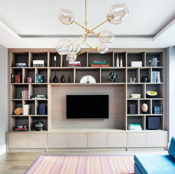 ✔️ 55 wall shelves design ideas show off your precious possessions with floating wall shelves 16