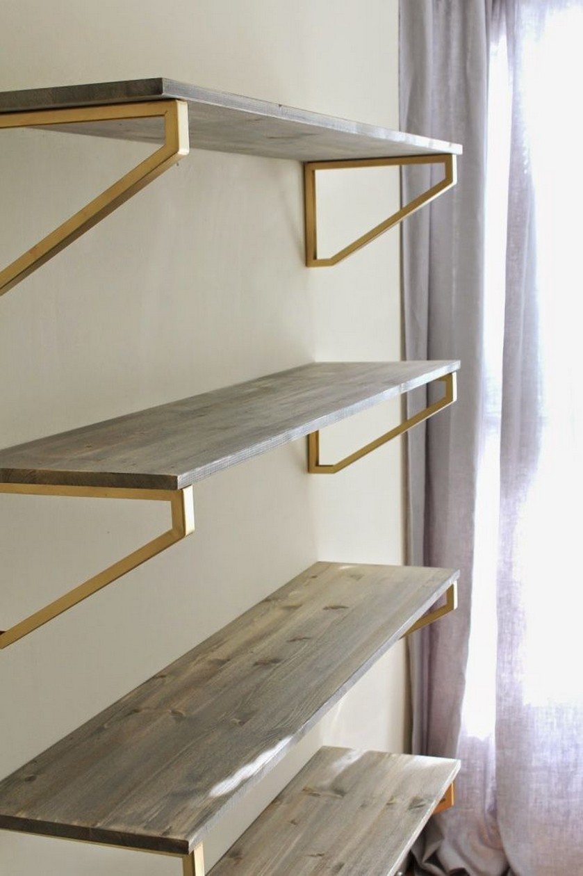 ✔️ 55 wall shelves design ideas show off your precious possessions with floating wall shelves 23