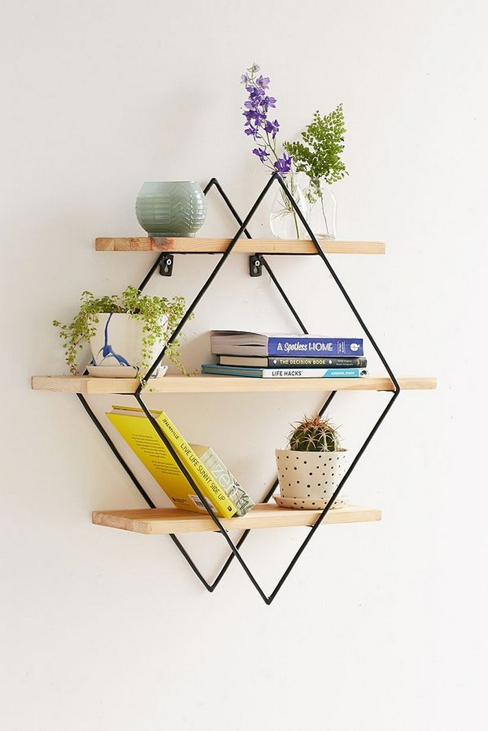 ✔️ 55 wall shelves design ideas show off your precious possessions with floating wall shelves 30