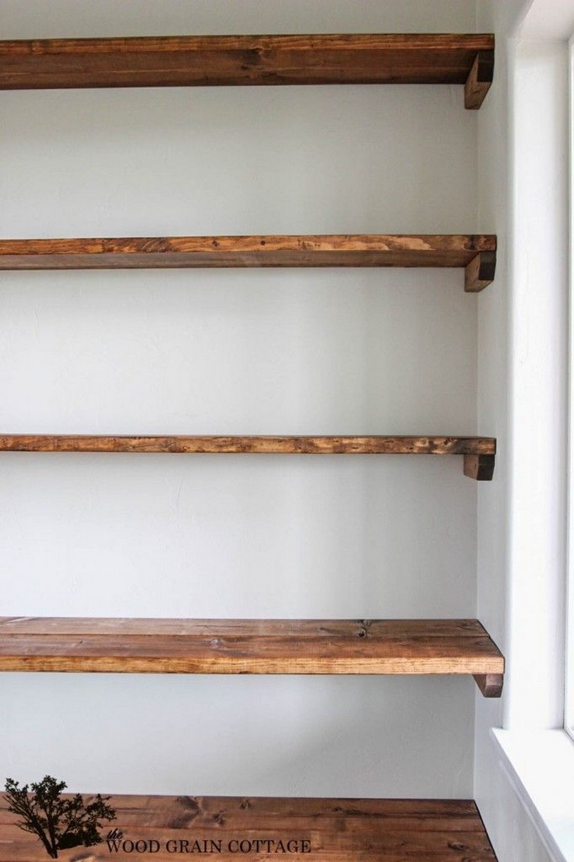 ✔️ 55 wall shelves design ideas show off your precious possessions with floating wall shelves 33