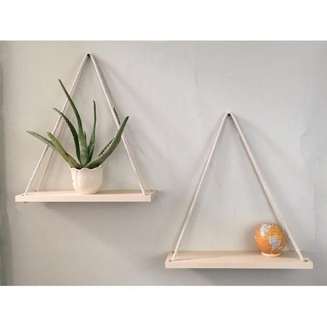 ✔️ 55 wall shelves design ideas show off your precious possessions with floating wall shelves 46
