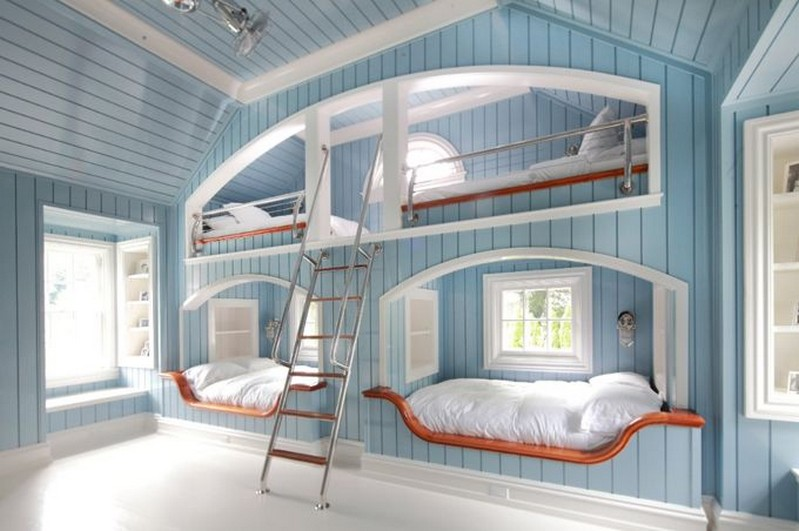 45 Amazing Bunk Bed Design Ideas How To Buy A Quality Bunk Bed 7