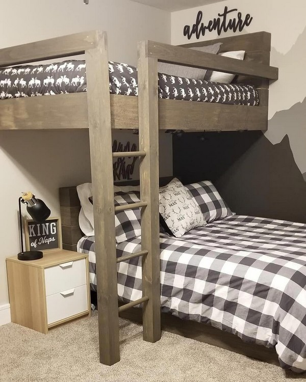 46 Kids Bunk Bed Decoration Ideas & Safety Tips 40
