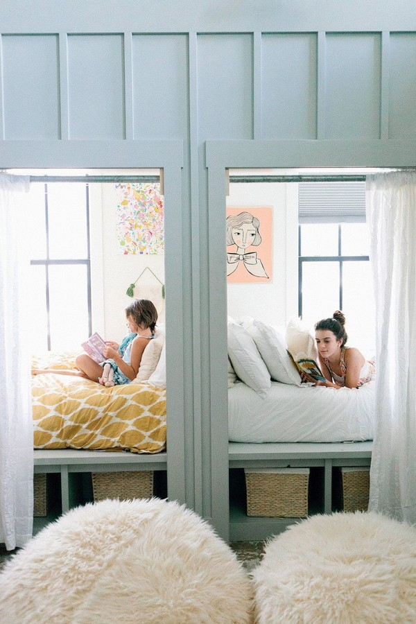 46 Kids Bunk Bed Decoration Ideas & Safety Tips 46