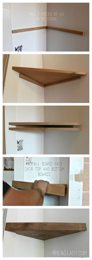 60 Best Of Corner Shelves Ideas 050