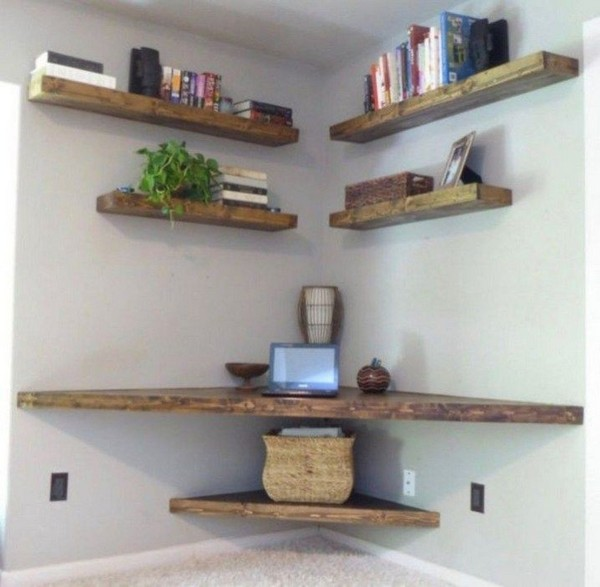 60 Best Of Corner Shelves Ideas 051