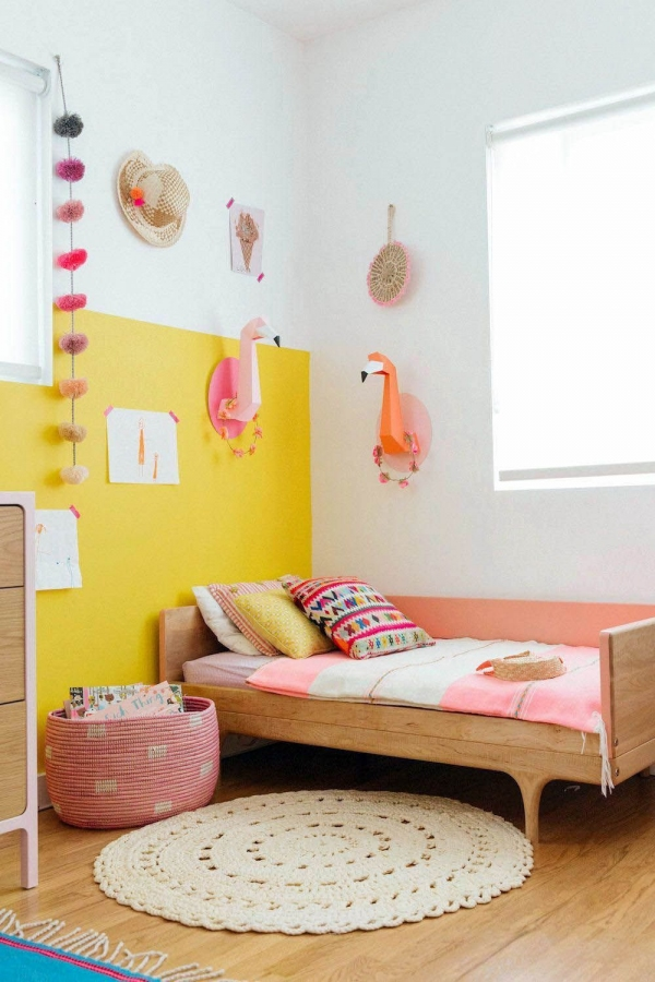 85 Awesome Bedroom Boy and Girl Decorating Ideas-3911