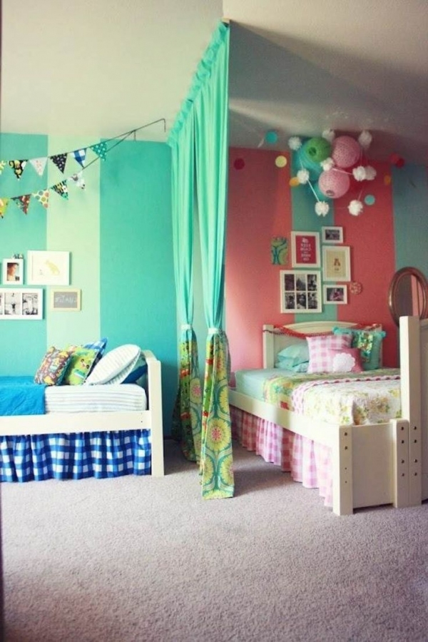 85 Awesome Bedroom Boy and Girl Decorating Ideas-3912
