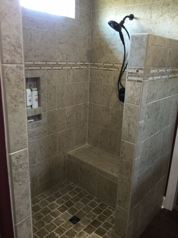 Walk In Shower With Seat Ideas A Bud And Elderly Friendly ...