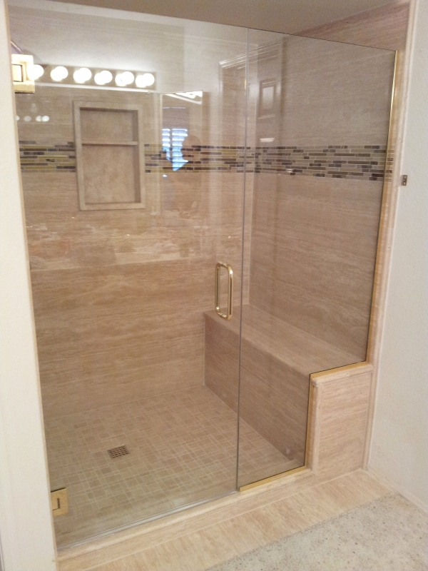 95 Beautiful Walk In Shower Ideas for Small Bathrooms 5704