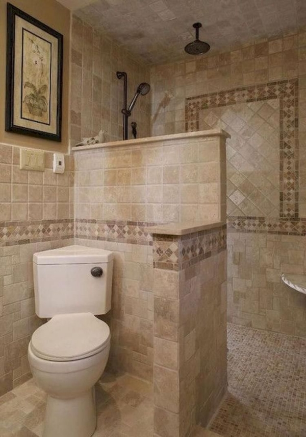 95 Beautiful Walk In Shower Ideas for Small Bathrooms 5708