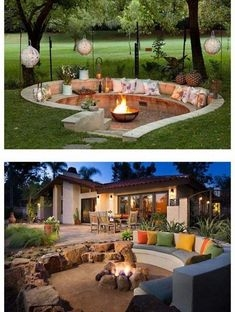 37 Most Popular Backyard Fire Pits Design Ideas- A Perfect Way to Entertain Guests 7081