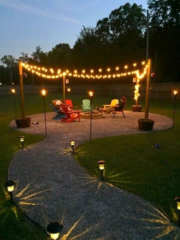 37 Most Popular Backyard Fire Pits Design Ideas- A Perfect Way to Entertain Guests 7057