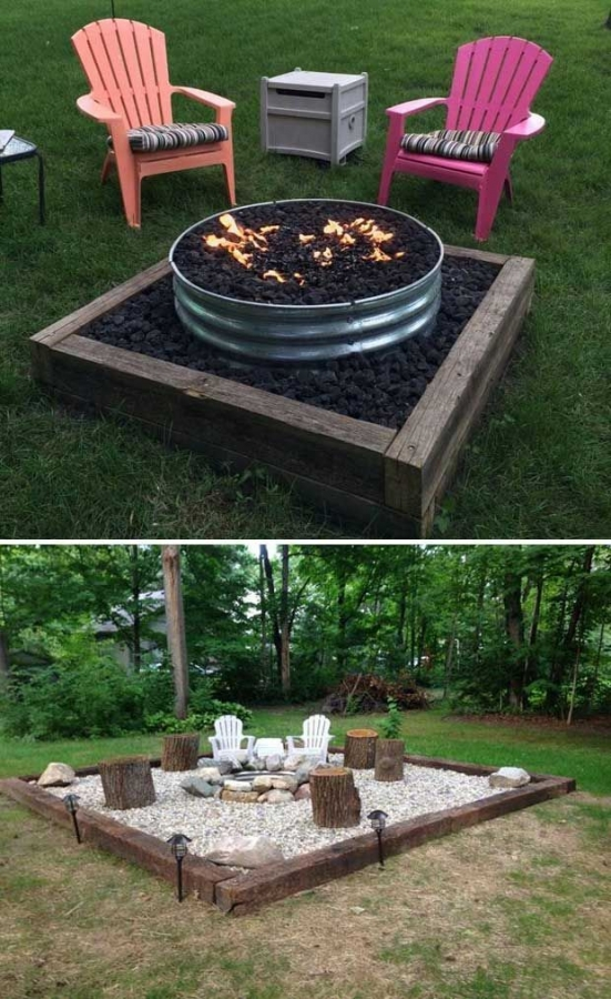 37 Most Popular Backyard Fire Pits Design Ideas- A Perfect Way to Entertain Guests 7051