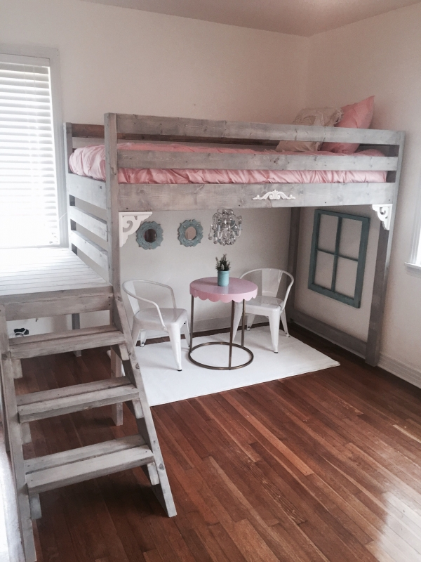 72 Most Popular Full Size Loft Bed with Stairs and What You Must Know 6366