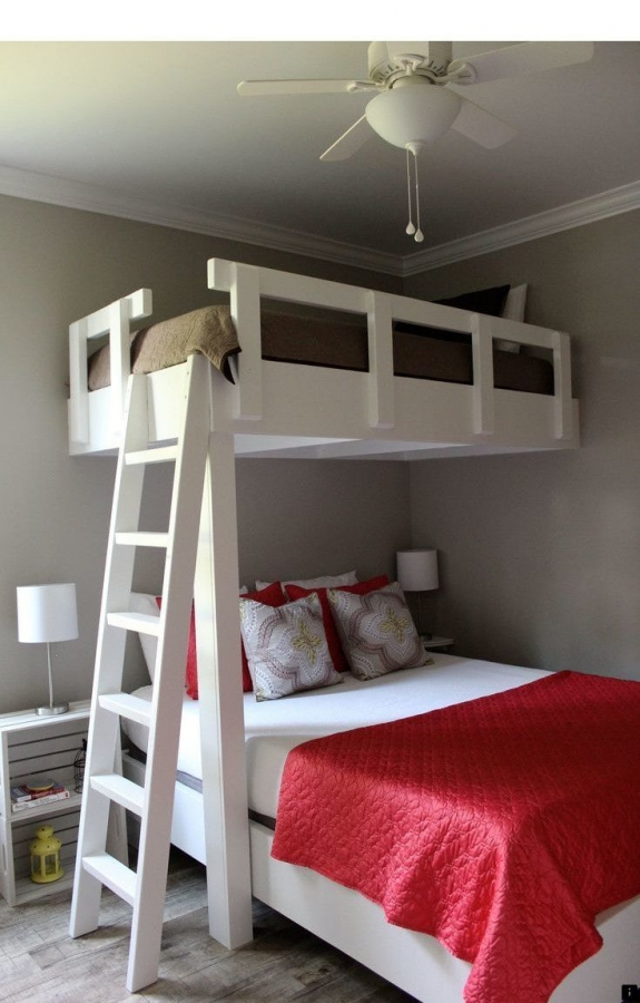 72 Most Popular Full Size Loft Bed with Stairs and What You Must Know 6379