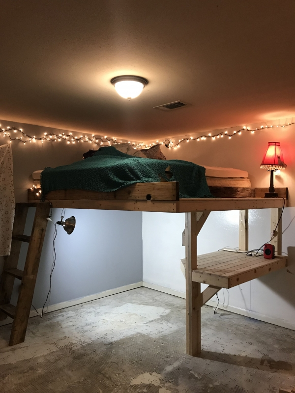 72 Most Popular Full Size Loft Bed with Stairs and What You Must Know 6387