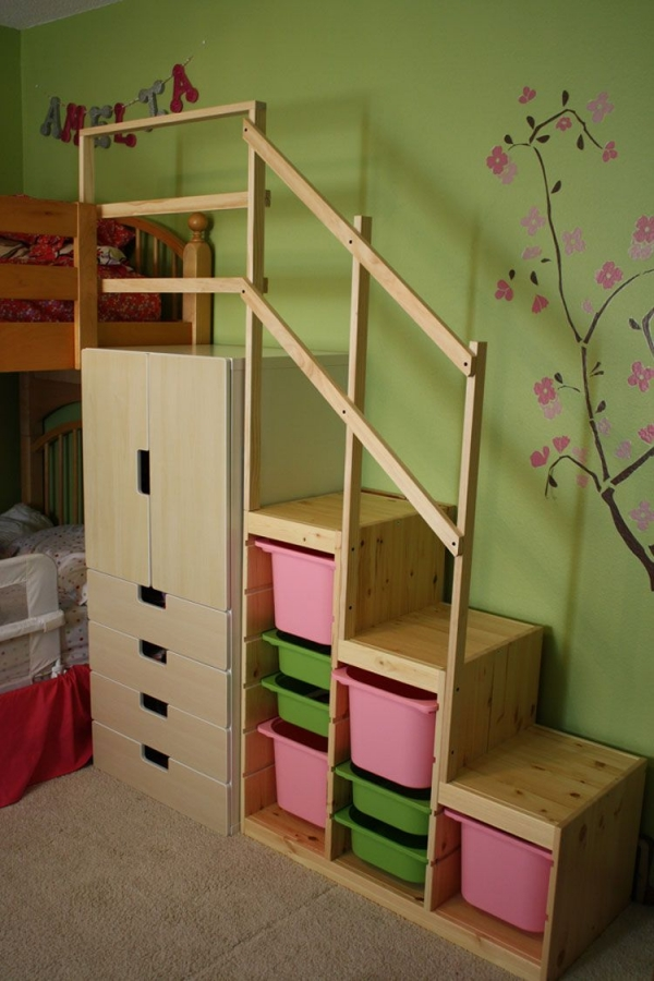 72 Most Popular Full Size Loft Bed with Stairs and What You Must Know 6406